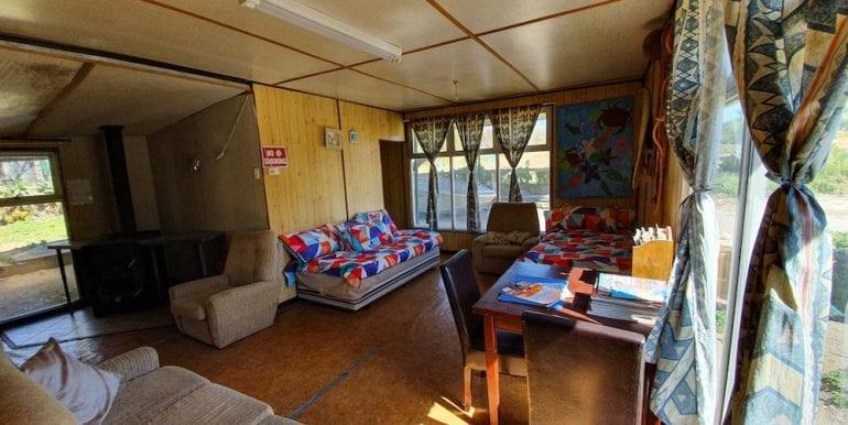 lobster shack living area